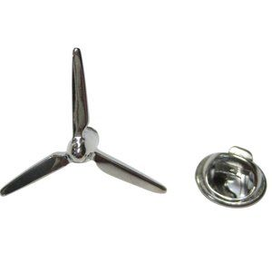 Wind Turbine Windmill Blade Design Lapel Pin